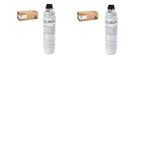 Ricoh 841346 Black Toner Cartridge 2-Pack for Aficio MP 3500, 4000, 4001, 4002, 4500, 5000, 5001