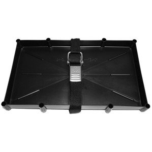 T-H Marine NBH-31-SSC-DP Battery Holder Tray with Stainless Steel Buckle, 31 Series (Best Group 31 Battery)