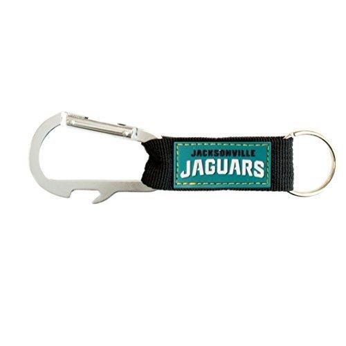 Pro Specialties Group NFL Jacksonville Jaguars Carabineer Key Tag, Teal, One ()
