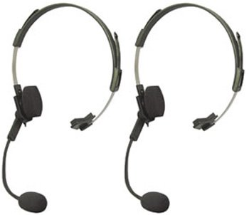 Motorola 53725 Voice Activated Corded Headset with Swivel Boom Mic (2-pack)