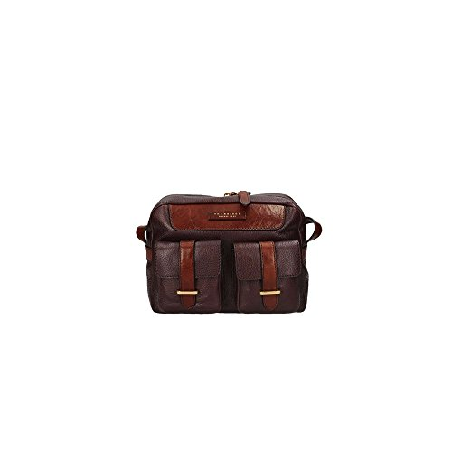 The Bridge - Cross Leather Bag Brown Woman