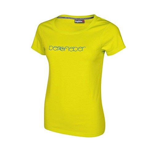 Berg fiebre Logo T–Camiseta para mujer amarillo