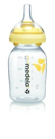 250 ml Confezione da 2 Pezzi MEDELA Poppatoio per Latte Materno