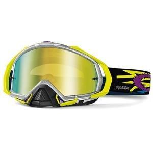 Oakley Mayhem MX Men's Goggles (TLD Zap Silver Frame/24K Iridium Lens)