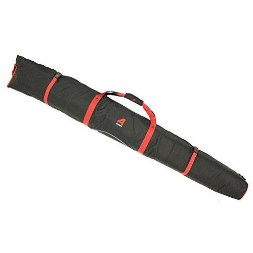 New Athalon Padded Single Ski Bag Black Red 180cm Model (Athalon Double Ski Bag)