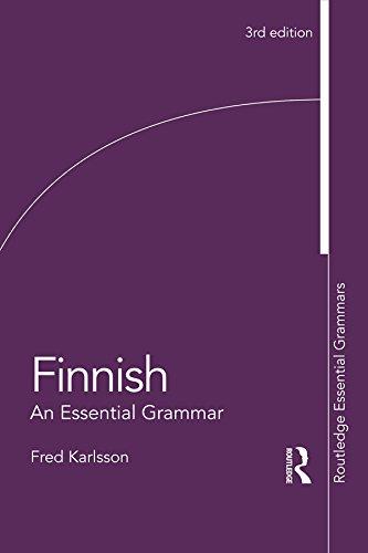 Finnish  An Essential Grammar  Routledge Essential Grammars   English Edition
