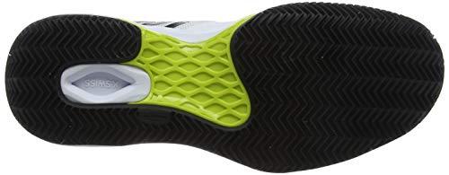 Aero K swiss Homme 124m neon Chaussures Yellow Tennis Performance Blanc black Court white De Hb TTwqEr
