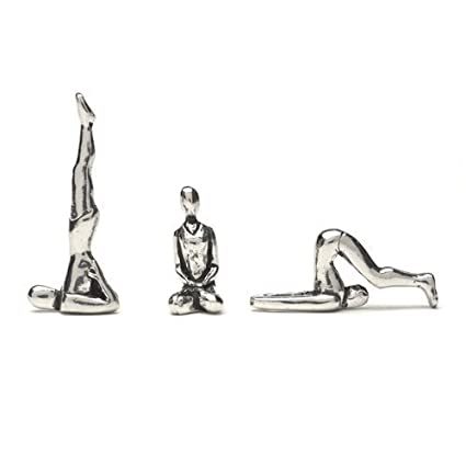 Yoga Poses Figurines By Basic Spirit