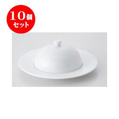 10個セット デリカウェア パシム24cmマフィンプレート(組) [23.8 x 8.8cm] 【洋食器 レストラン ホテル カフェ 飲食店 業務用】   B01M9JXUX5