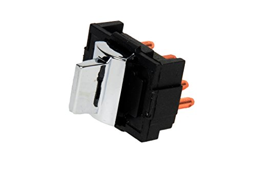 ACDelco 19245390 GM Original Equipment Chrome Door Window Switch - Seville Power Window Switch