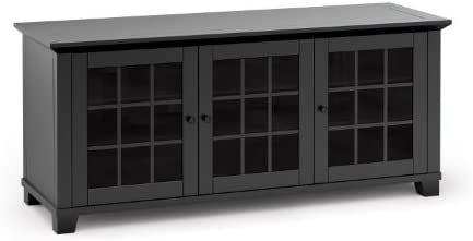 Salamander Designs SDAV1 Triple Model 6626 AV Basics Cabinet – Matte Black