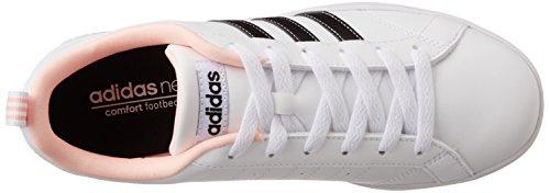 adidas Vs Advantage W, Scarpe da Ginnastica Donna, Bianco (Ftwbla/Negbas/Corneb), 40 EU