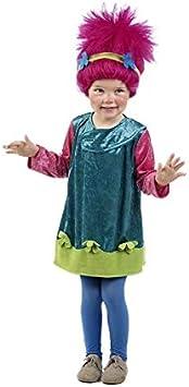 DISBACANAL Disfraz de Troll para niña - -, 2-3 años: Amazon.es ...
