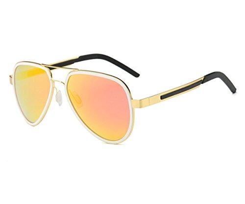 Konalla Classic Polarized Double Frame UV Protective Avaitor Sunglasses - Oakly Eyeglasses