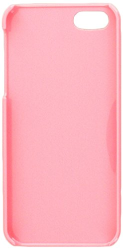 Graphics and More Greece Flag Snap-On Hard Protective Case for iPhone 5/5s - Non-Retail Packaging - Pink