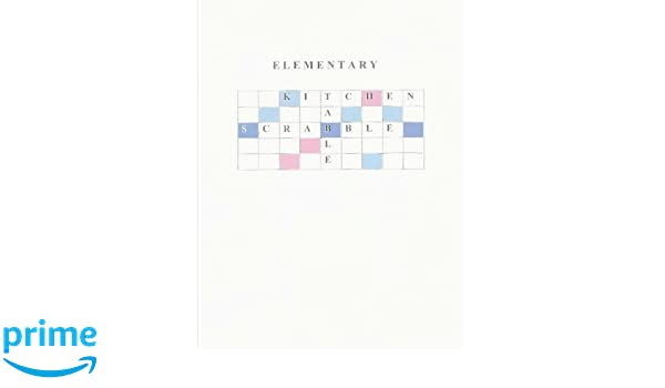 Elementary Kitchen Table Scrabble: Bob & Espy Navarro