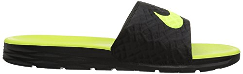 070 Black Pool NIKE Volt Men amp; Black Beach 's Benassi Solarsoft Shoes 4g8PqT
