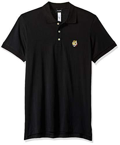 Diesel Men's BMOWT Polo Shirt, Black XL ()