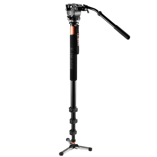 E-Image MA-70 Handheld Multi Function Aluminum Fluid Video Monopod With EI02H Head for DSLR Cameras Monopods at amazon
