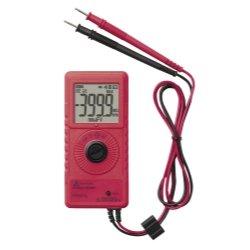 Pocket Digital Multimeter, 600V, 40 MOhms