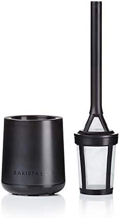 Barista & Co Brew It Stick Cafetera para hacer café, infusor de té para una sola porción, infusor de té de hojas sueltas, color negro: Amazon.es: Hogar