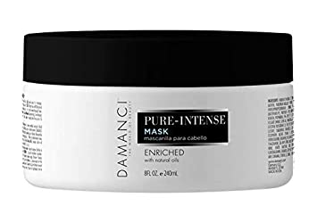 DAMANCI, PURE INTENSE TREATMENT HAIR MASK 8 OZ , AFTER CARE AND STYLING. ULTRA-MOISTURIZING, SOFTENING AND CONDITIONING, HAIR REPAIR MASK. REBUILD AND STRENGTHENS FOR ALL TYPE OF HAIR