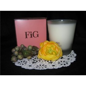 Henri Bendel FIG Scented Candle in Glass Jar
