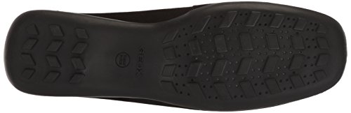 Womens Geox Euxo 3 Mocassino Nero