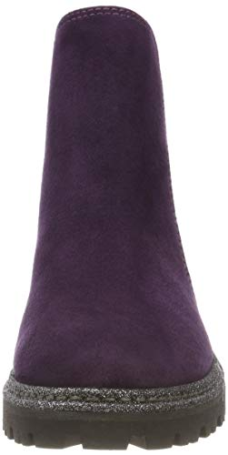 Viola purple 515 Marco Chelsea Stivali Comb 31 25841 Tozzi Donna zIYr0Yn