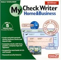 My Software - Checkwriter Home & Busines