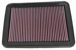 K&N ENGINEERING 33-2296 Air Filter; Panel; H-.938 in.; L-11 in.; w-9.125 in.;