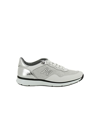 Hogan Sneakers Donna HXW2540W651FPX0906 Pelle Argento