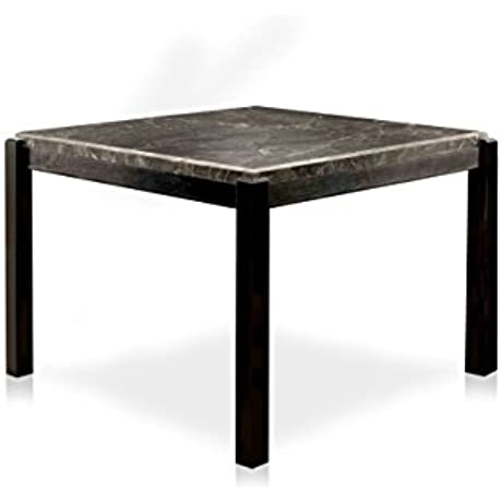 HOMES Inside Out IDF 3823BK PT Elba Counter Height Table Black Contemporary