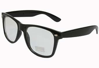 G&G Nerd Glasses Buddy Classic Black Frame Clear Lens