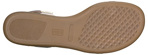 Sandal Silver Aerosoles Chlearwater Flat Women's BWwfZnR