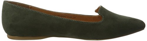 Bianco Spitzer Loafer - Mocasines Mujer Grün (Army Green)