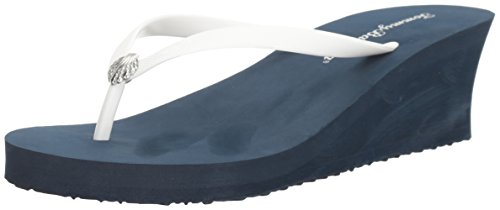 Solid Wedge Tommy Unies Compensées Bleu Bahamawhykiki Whykiki Marine Femme wa6qqOEf