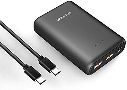 Amazon.com: Charmast Mini 10000 USBC PD & QC 3.0 cargador ...