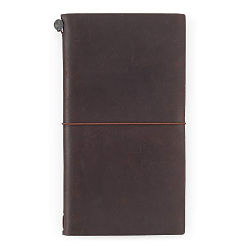 Travelers Notebook Brown Leather (1, 1 LB) by Xekia (Image #1)