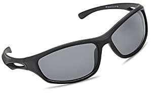 Siren Polarized Sports Sunglasses w Case TR90 Unbreakable Frame - Choose Your Color