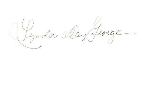 Amazon com: Lynda Day George Signed - Autographed 3x5 inch