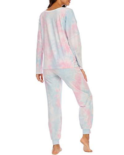 Tie Dye Pajamas for Women Lounge Sets for Women Pjs for Women Tie Dye Sets for Women