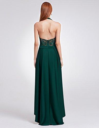 Elegante Oscuro Encaje Largo Ever Noche Verde de B mujeres07189 Verde de Pretty Oscuro de Las Vestidos x88IZA1z