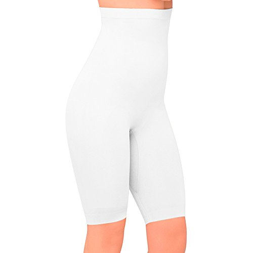 The Body Wrap - Culotte para mujer BLANCO