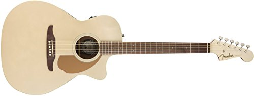 Fender Newporter Player - California Series Acoustic Guitar - Champagne