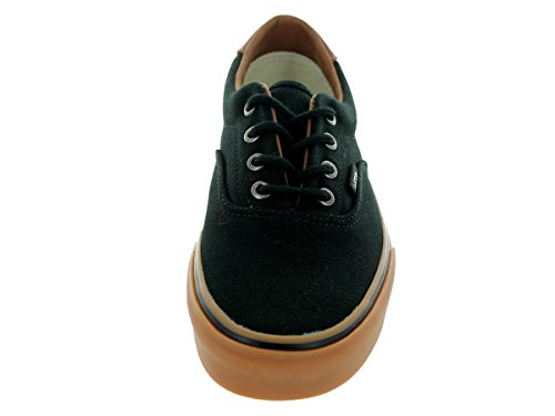 Vans - Zapatillas de deporte de tela unisex (C&L) Black/Classic Gum
