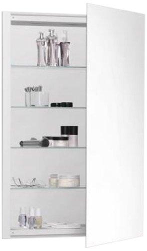 Robern CB-RC2436D4FP1 R3-Series Plain Mirror Medicine Cabinet from Robern