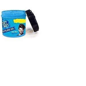 Set Wet Cool Hold Strength Hair Gel, 250 ml