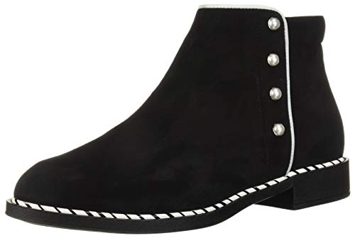 White BeautiFeel Marlowe Suede Women's Black Fashion Boot x71wx