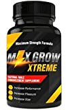 Max Grow Xtreme- All Natural Male Enhancement Supplement- Surge Sex Drive and Energy- Increase Sexual Confidence- Increase Size and Endurance